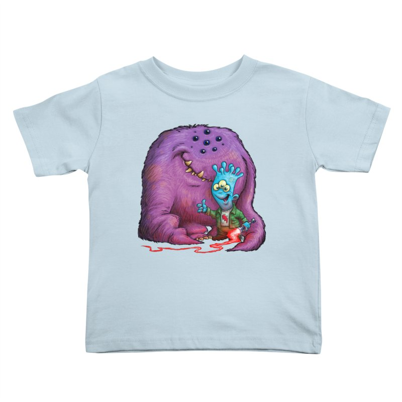 A Boy and his Grogg Kids Toddler T-Shirt by Billy Allison's Shop