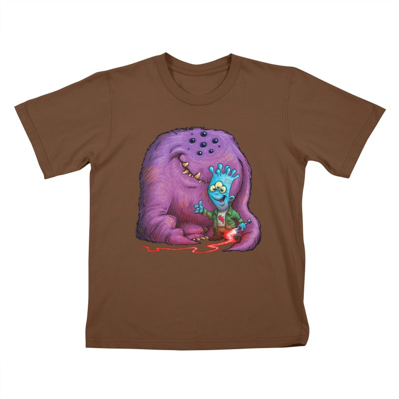 A Boy and his Grogg Kids T-shirt by Billy Allison's Shop