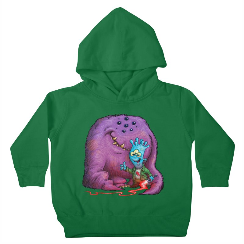 A Boy and his Grogg Kids Toddler Pullover Hoody by Billy Allison's Shop