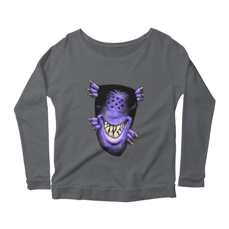 Anyone want to play? Women's Longsleeve Scoopneck  by Billy Allison's Shop