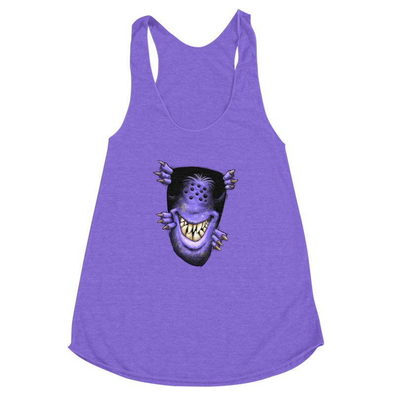 Anyone want to play? Women's Racerback Triblend Tank by Billy Allison's Shop