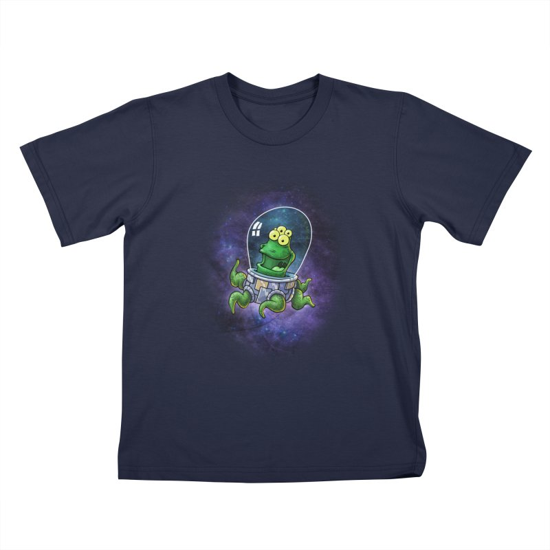 Combi alien Kids T-shirt by Billy Allison's Shop
