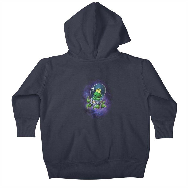 Combi alien Kids Baby Zip-Up Hoody by Billy Allison's Shop