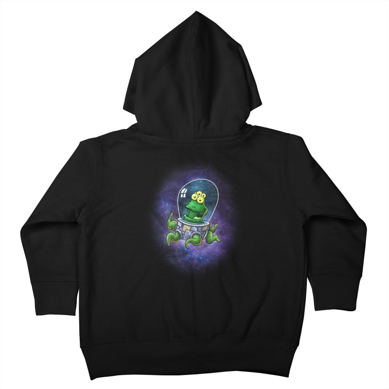 Combi alien Kids Toddler Zip-Up Hoody by Billy Allison's Shop