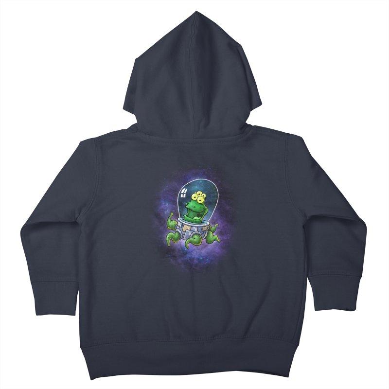 Combi alien Kids Toddler Zip-Up Hoody by Billy Allison's Shop