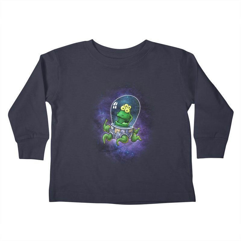 Combi alien Kids Toddler Longsleeve T-Shirt by Billy Allison's Shop