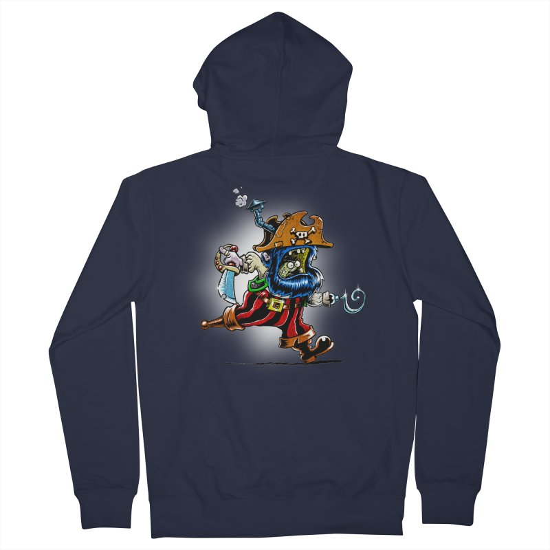 SteamPirate! Men's Zip-Up Hoody by Billy Allison's Shop