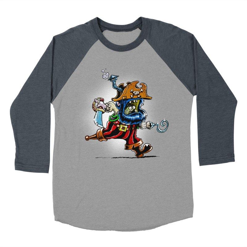 SteamPirate! Women's Baseball Triblend T-Shirt by Billy Allison's Shop