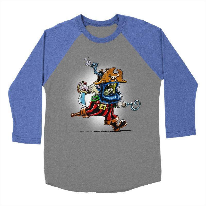 SteamPirate! Men's Baseball Triblend T-Shirt by Billy Allison's Shop