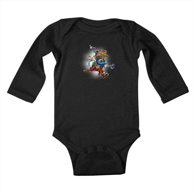 SteamPirate! Kids Baby Longsleeve Bodysuit by Billy Allison's Shop