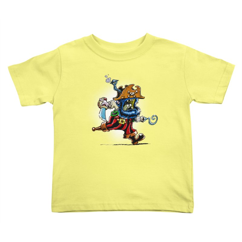 SteamPirate! Kids Toddler T-Shirt by Billy Allison's Shop