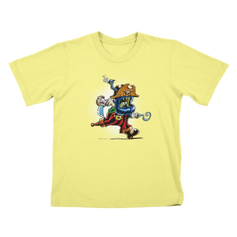 SteamPirate! Kids T-shirt by Billy Allison's Shop