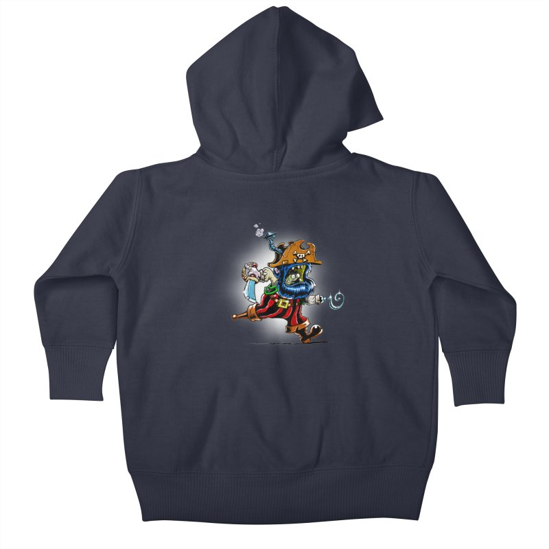 SteamPirate! Kids Baby Zip-Up Hoody by Billy Allison's Shop