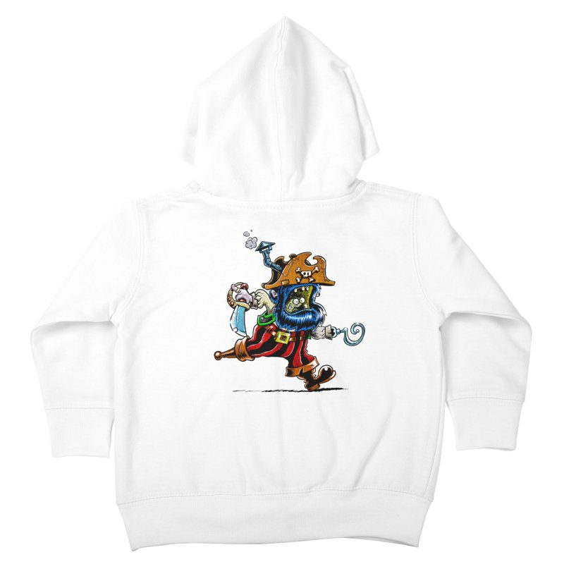 SteamPirate! Kids Toddler Zip-Up Hoody by Billy Allison's Shop