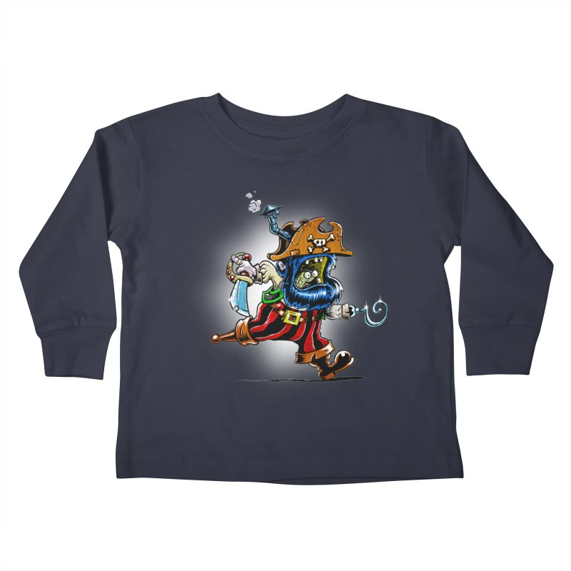 SteamPirate! Kids Toddler Longsleeve T-Shirt by Billy Allison's Shop