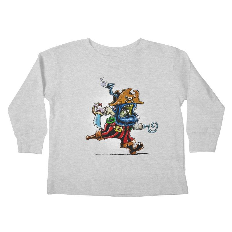 SteamPirate! Kids Toddler Longsleeve T-Shirt by Billy Allison's Shop