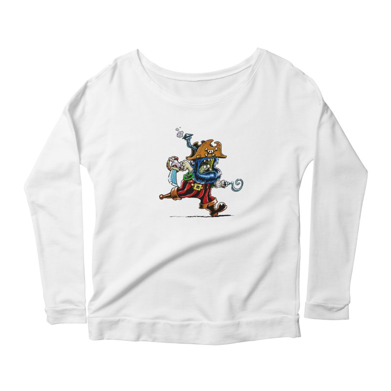 SteamPirate! Women's Longsleeve Scoopneck  by Billy Allison's Shop