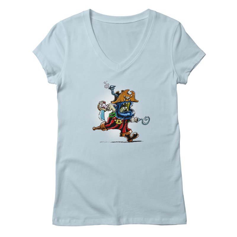 SteamPirate! Women's V-Neck by Billy Allison's Shop