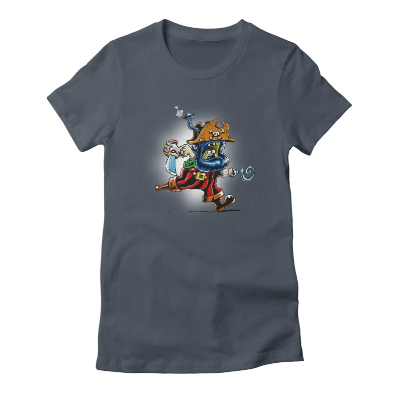 SteamPirate! Women's Fitted T-Shirt by Billy Allison's Shop