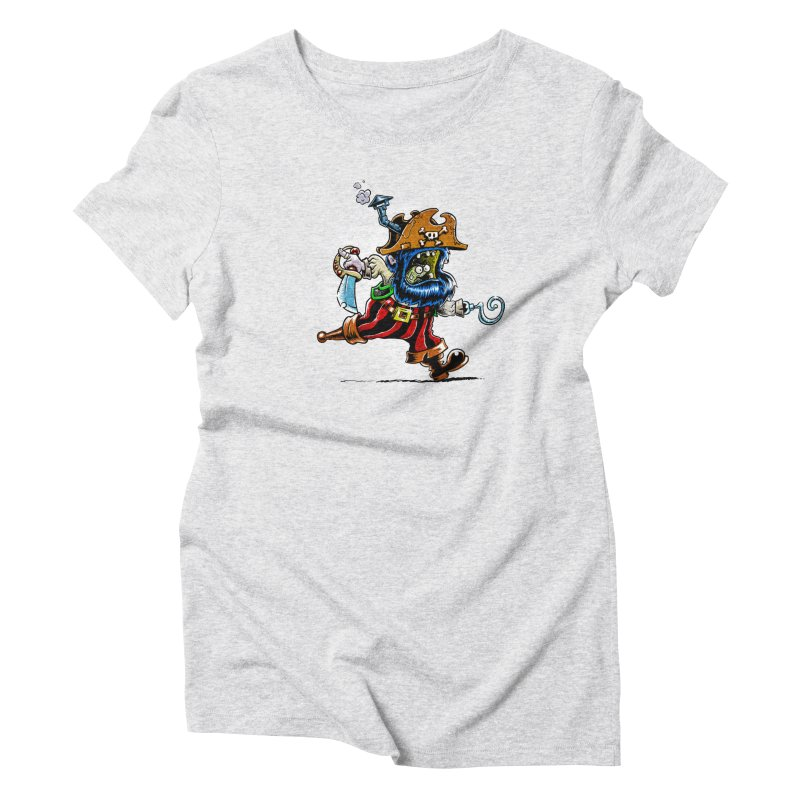 SteamPirate! Women's Triblend T-Shirt by Billy Allison's Shop