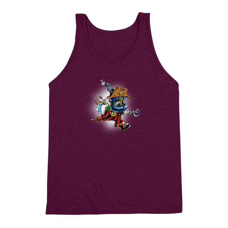 SteamPirate! Men's Triblend Tank by Billy Allison's Shop