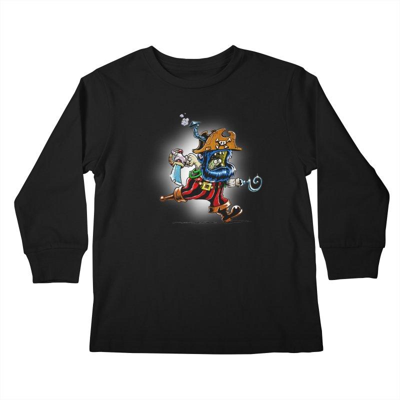 SteamPirate! Kids Longsleeve T-Shirt by Billy Allison's Shop