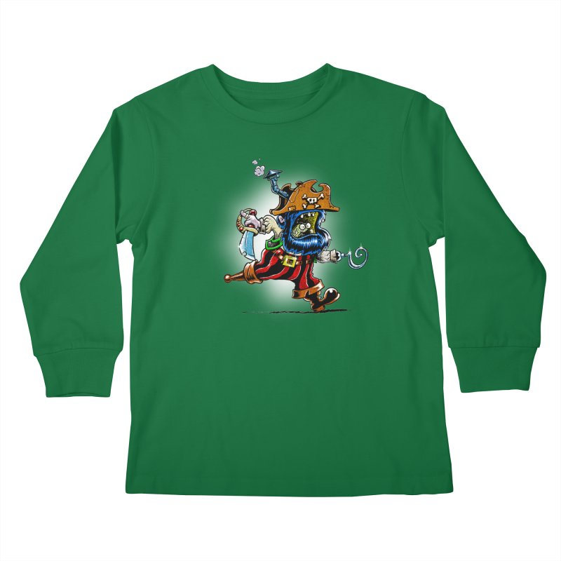 SteamPirate! Kids Longsleeve T-Shirt by Billy Allison's Shop