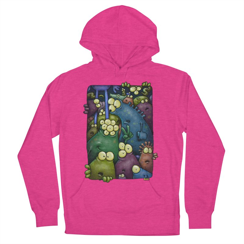 crowded Women's Pullover Hoody by Billy Allison's Shop