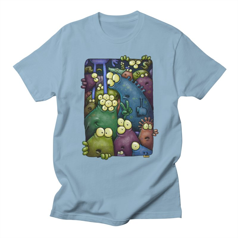 crowded Men's T-Shirt by Billy Allison's Shop