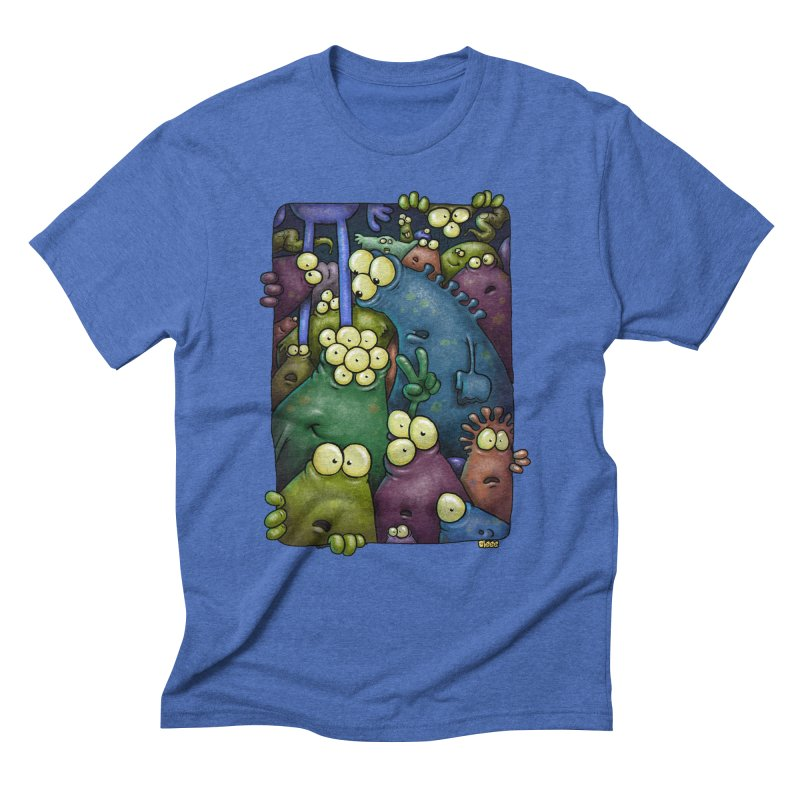 crowded Men's Triblend T-Shirt by Billy Allison's Shop