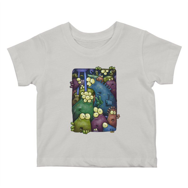 crowded Kids Baby T-Shirt by Billy Allison's Shop