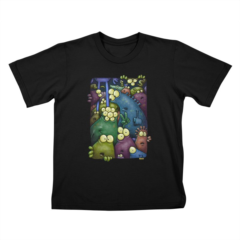 crowded Kids T-Shirt by Billy Allison's Shop