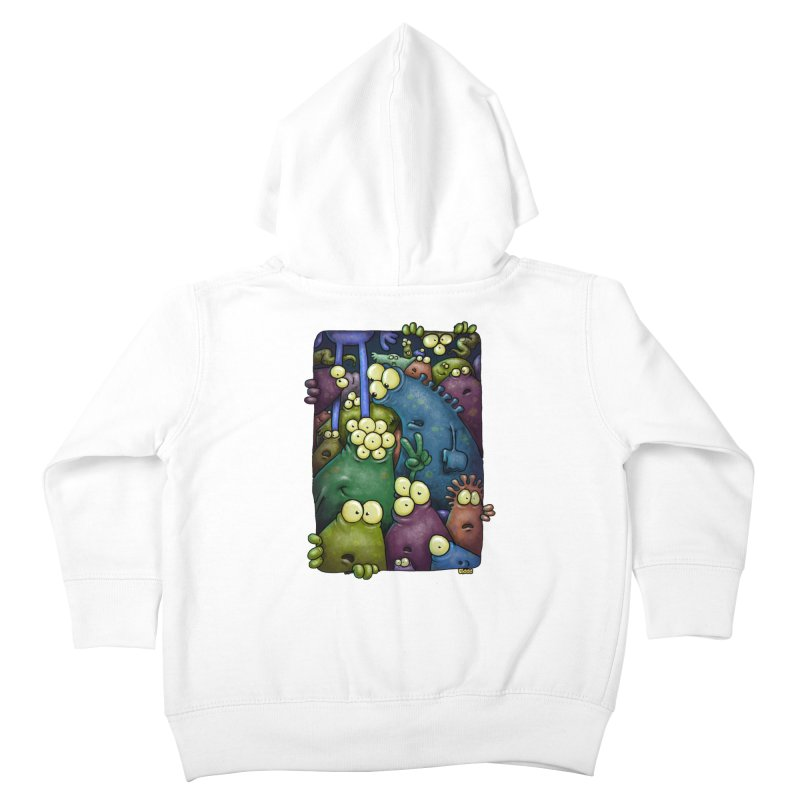 crowded Kids Toddler Zip-Up Hoody by Billy Allison's Shop