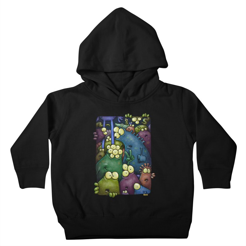 crowded Kids Toddler Pullover Hoody by Billy Allison's Shop