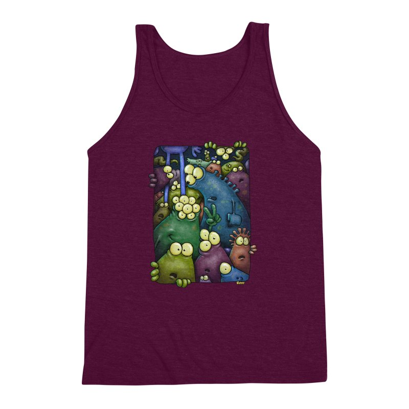crowded Men's Triblend Tank by Billy Allison's Shop