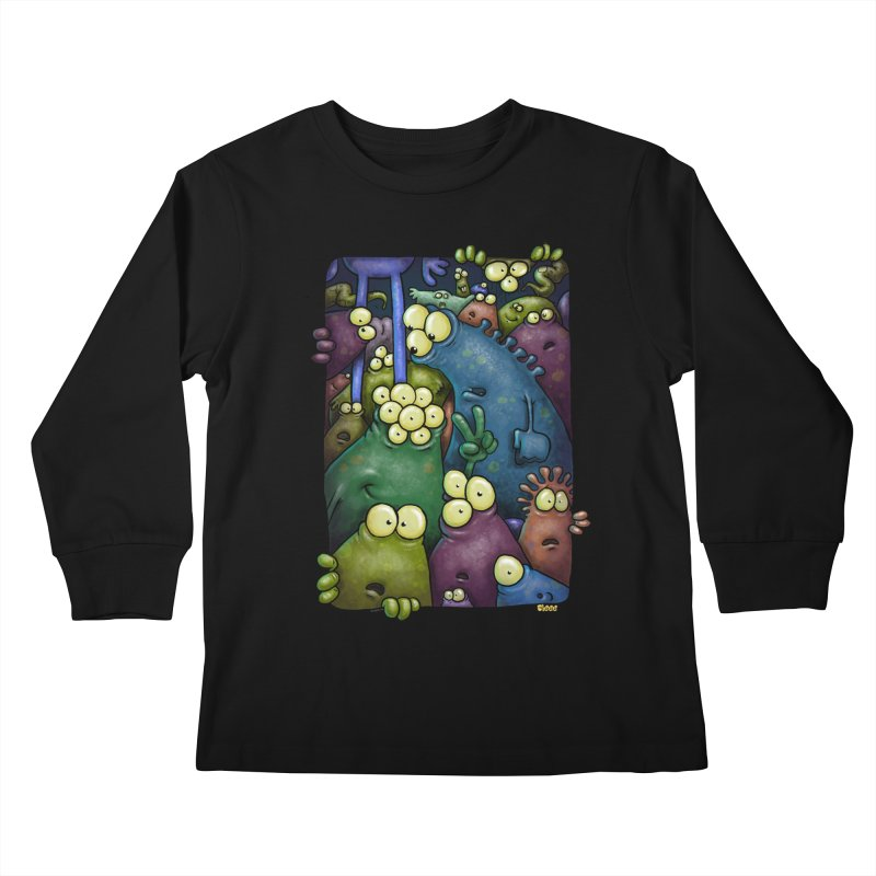 crowded Kids Longsleeve T-Shirt by Billy Allison's Shop