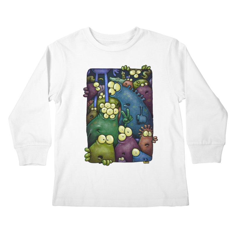 crowded Kids Longsleeve T-Shirt by Billy Allison's Shop