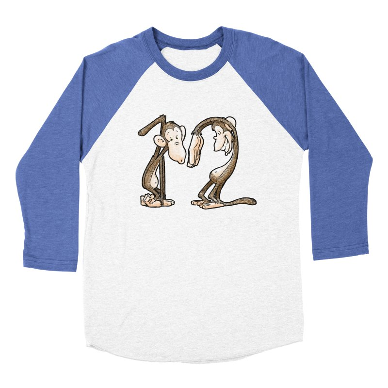 The Twelve Monkeys Women's Baseball Triblend T-Shirt by Billy Allison's Shop