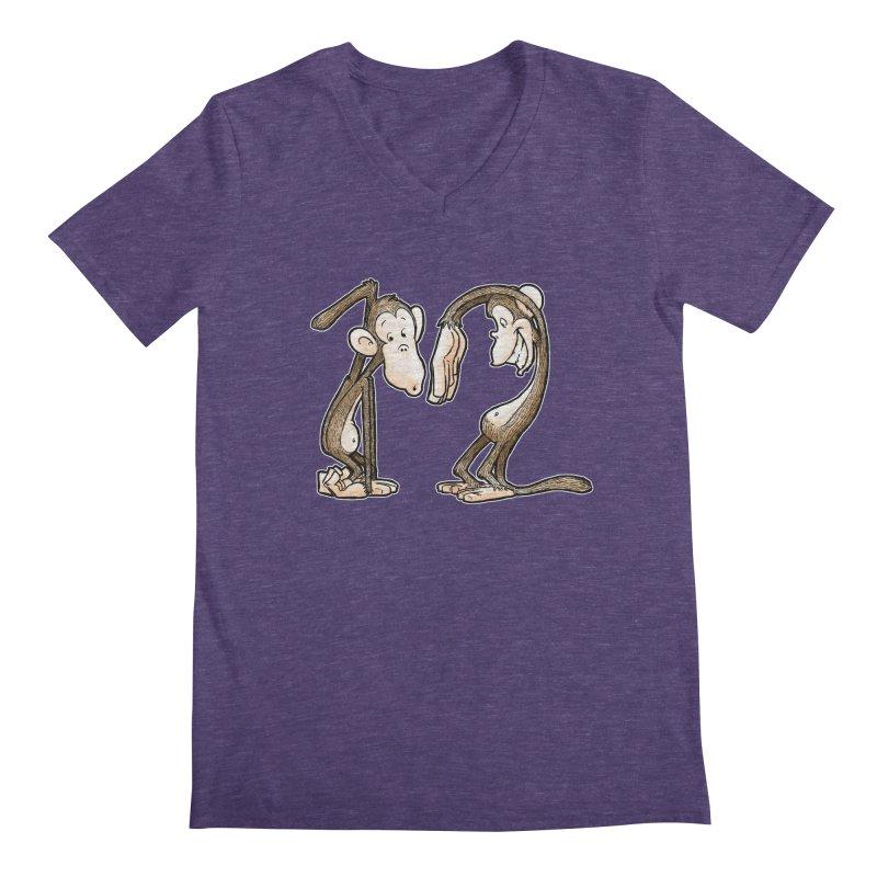 The Twelve Monkeys Men's V-Neck by Billy Allison's Shop