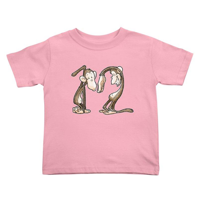 The Twelve Monkeys Kids Toddler T-Shirt by Billy Allison's Shop