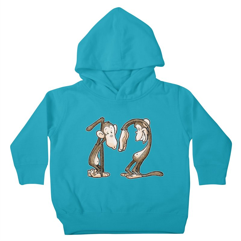 The Twelve Monkeys Kids Toddler Pullover Hoody by Billy Allison's Shop