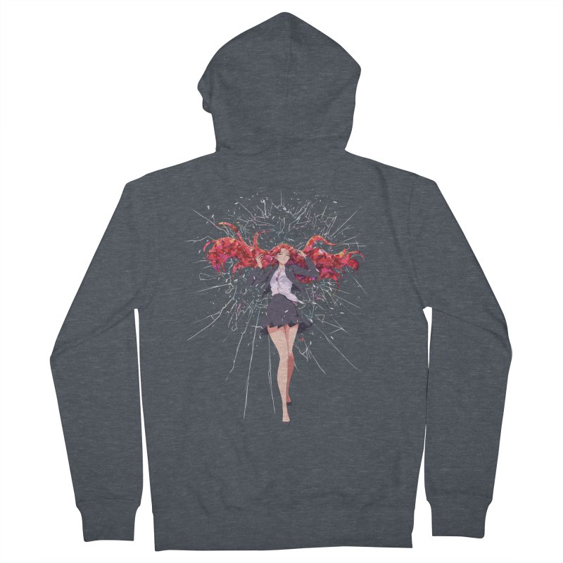 Release Men's French Terry Zip-Up Hoody by Designs by Billy Wan