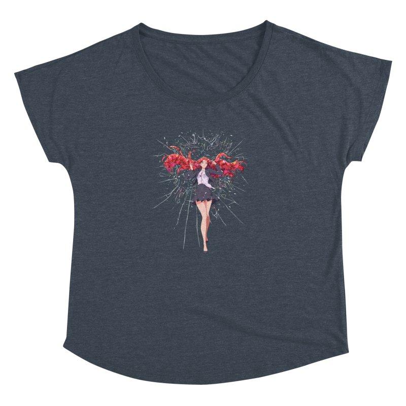 Release Women's Dolman Scoop Neck by Designs by Billy Wan
