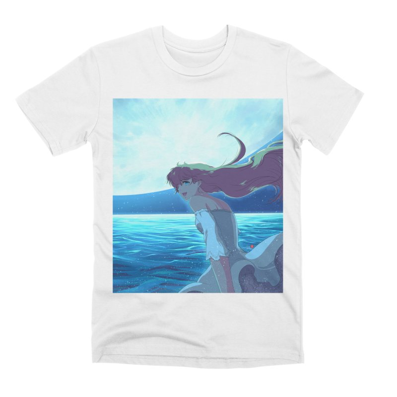 Lunar Descent Men's Premium T-Shirt by Designs by Billy Wan