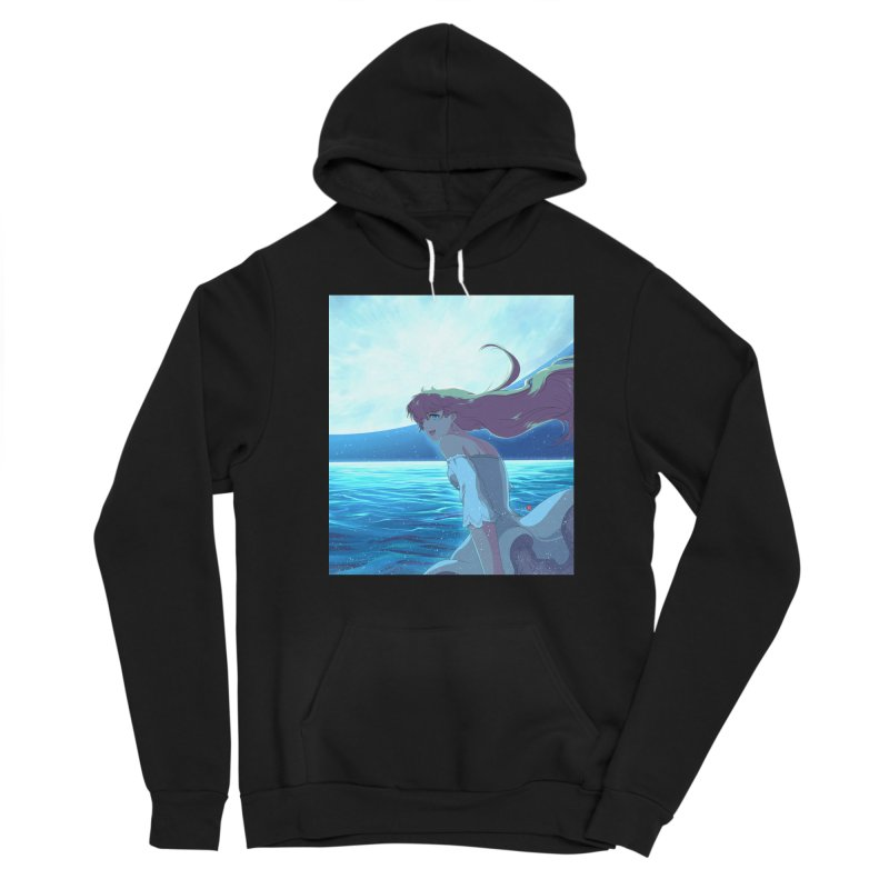 Lunar Descent Women's Pullover Hoody by Designs by Billy Wan