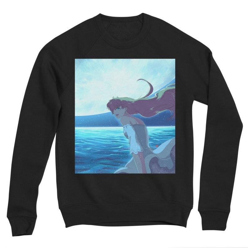 Lunar Descent Men's Sponge Fleece Sweatshirt by Designs by Billy Wan
