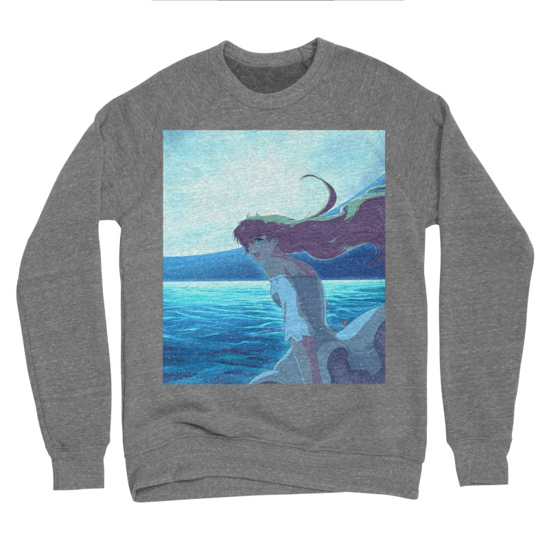Lunar Descent Women's Sweatshirt by Designs by Billy Wan