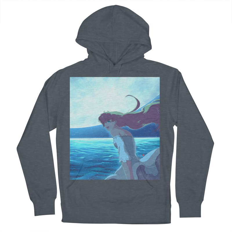 Lunar Descent Women's French Terry Pullover Hoody by Designs by Billy Wan