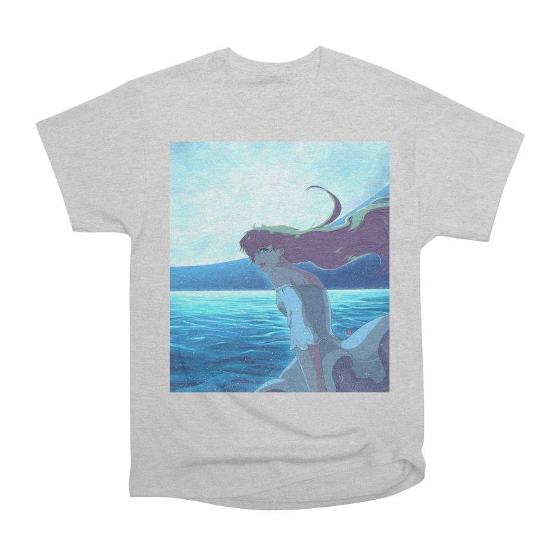 Lunar Descent Men's T-Shirt by Designs by Billy Wan