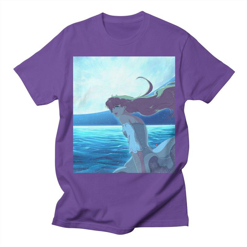Lunar Descent Men's Regular T-Shirt by Designs by Billy Wan